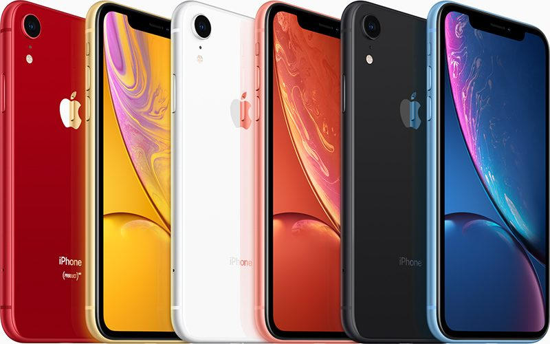 iPhone XR Line Up